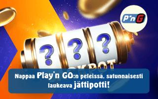 Nappaa Play'n GO:n peleissä, satunnaisesti laukeava jättipotti!